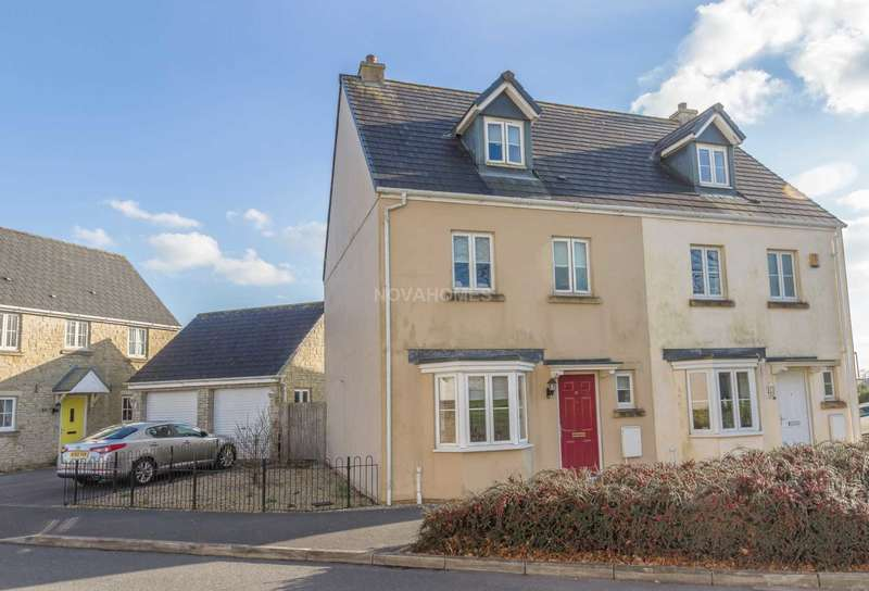 4 Bedrooms Semi Detached House for sale in Montgomery Drive, Tavistock, PL19 8JX