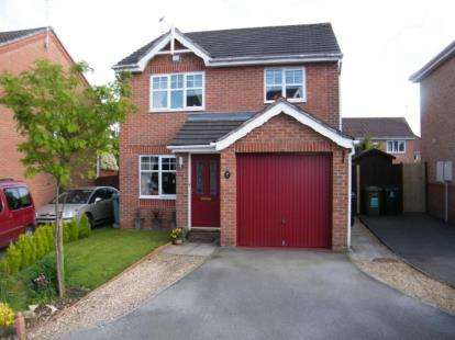 3 Bedrooms Detached House for sale in Croftwood Close, Winsford, Cheshire, CW7
