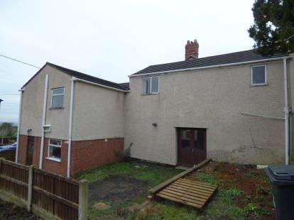 5 Bedrooms Semi Detached House for sale in Garden Terrace, Bottom Road, Summerhill, Wrexham, LL11