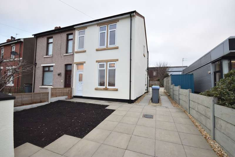 3 Bedrooms Semi Detached House for sale in Vicarage Lane, Blackpool