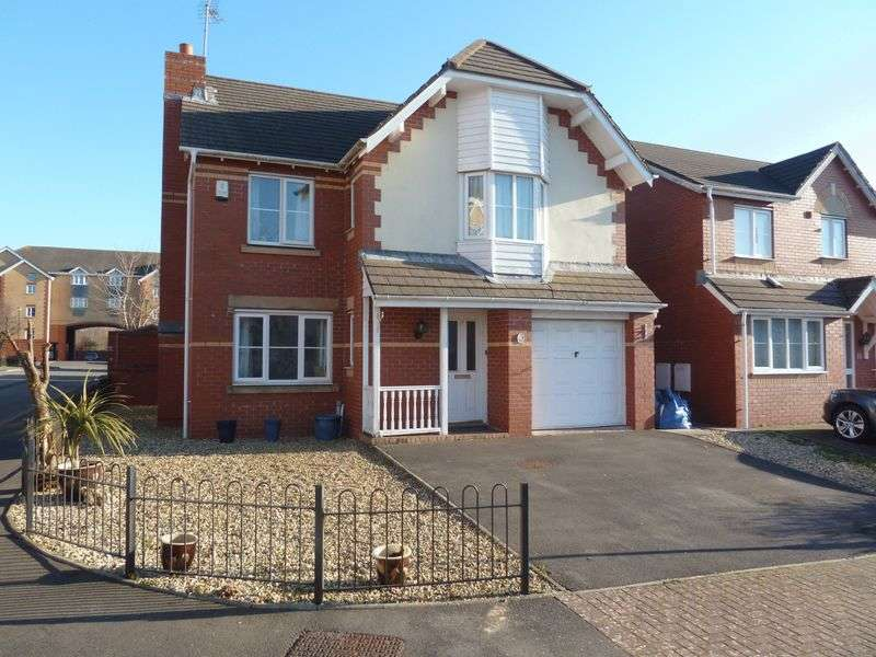 4 Bedrooms Detached House for sale in Cwrt Edward, Barry