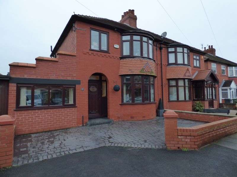 3 Bedrooms Semi Detached House for sale in Orwell Avenue, Manchester