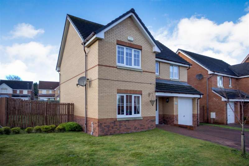 4 Bedrooms Detached House for sale in Dow Place, Stenhousemuir