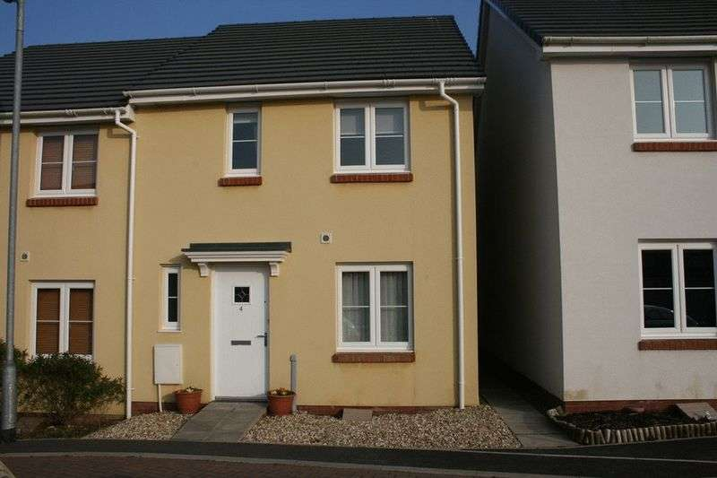 3 Bedrooms Terraced House for sale in Raleigh Gardens, Bodmin