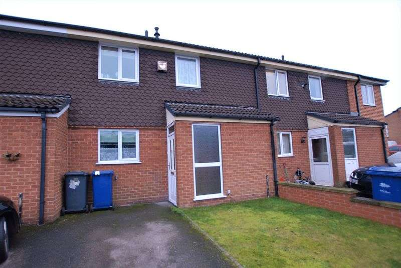 2 Bedrooms Terraced House for sale in George Elliott Close, Uttoxeter