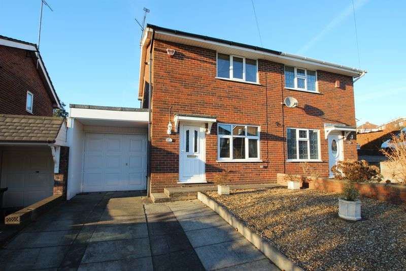 2 Bedrooms Semi Detached House for sale in Whiteridge Road, Stoke-On-Trent