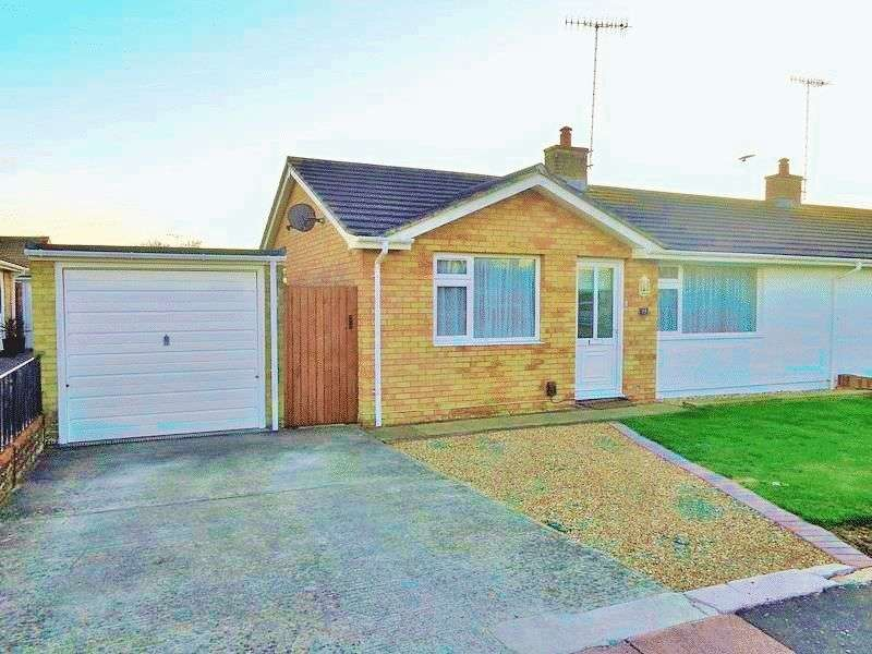 2 Bedrooms Semi Detached Bungalow for sale in Twyford Close, Worthing