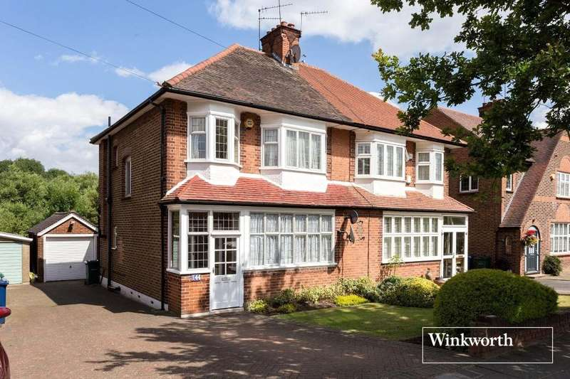 3 Bedrooms Semi Detached House for sale in Chanctonbury Way, Woodside Park, London, N12