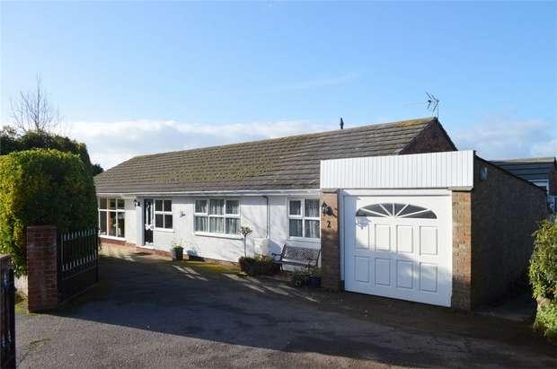 4 Bedrooms Detached Bungalow for sale in Cranford Close, EXMOUTH, Devon