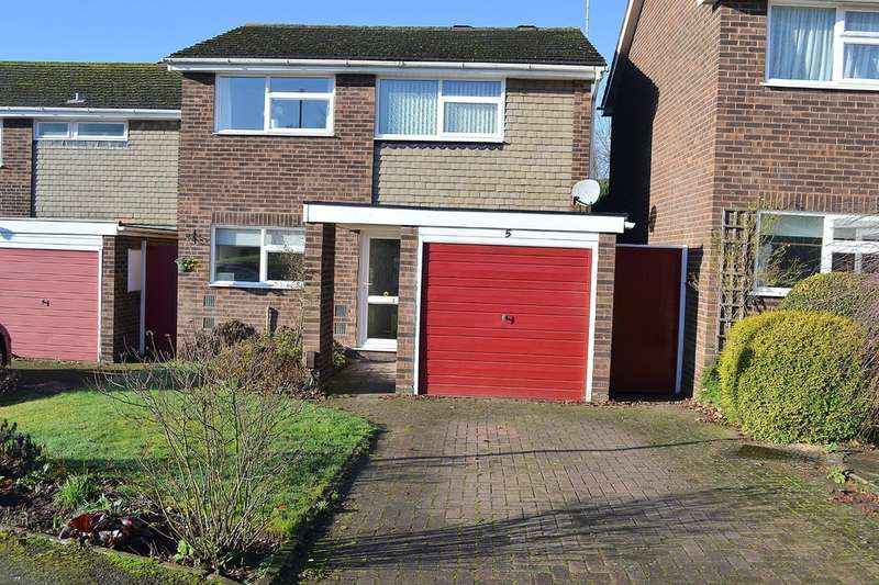 3 Bedrooms Detached House for sale in Erasmus Way, Lichfield