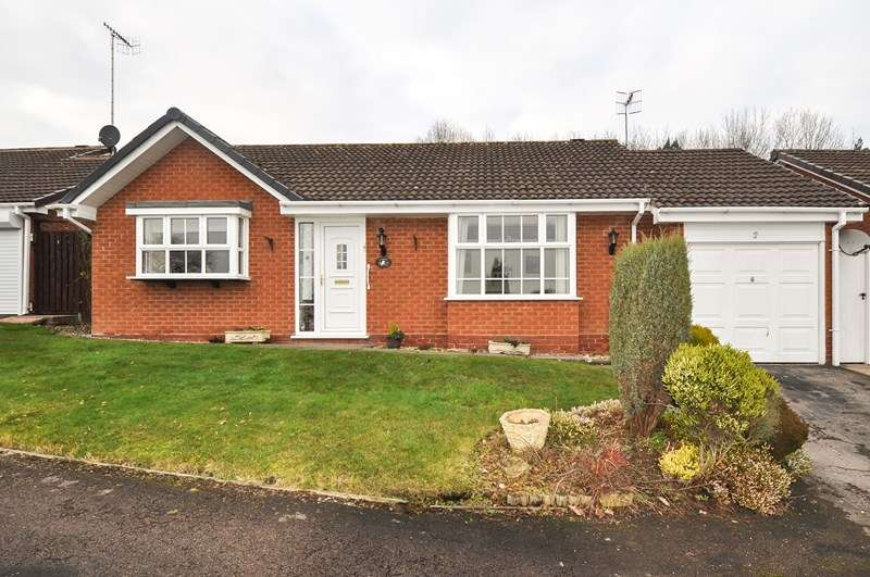 2 Bedrooms Detached Bungalow for sale in Wordsley Close, Church Hill North, Redditch