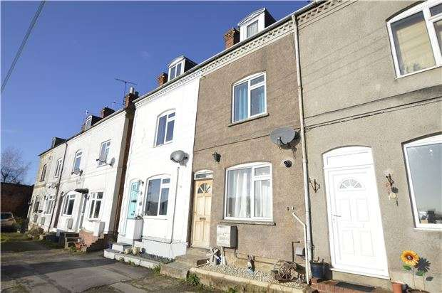 2 Bedrooms Terraced House for sale in Fortview Terrace, Bridge Street, Stroud, Gloucestershire, GL5 3ES