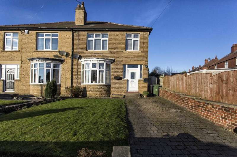 3 Bedrooms Semi Detached House for sale in 2 Lumley Road, Hanging Heaton, Dewsbury, WF12 7DU