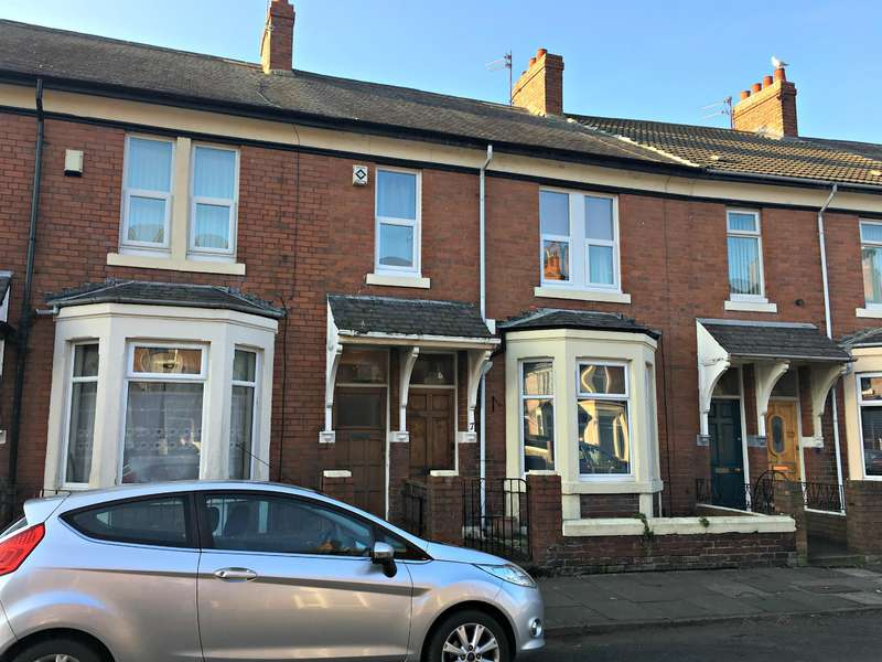 2 Bedrooms Ground Flat for sale in Drummond Terrace, North Shields