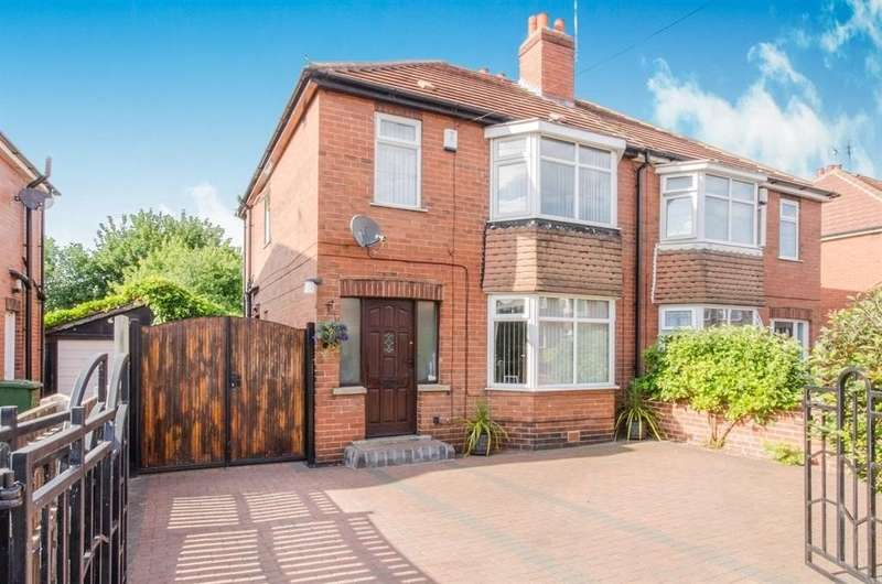 3 Bedrooms Semi Detached House for sale in Belle Isle Avenue, Wakefield