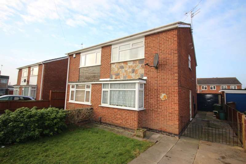 3 Bedrooms Semi Detached House for sale in Pinewood Avenue, Thurmaston