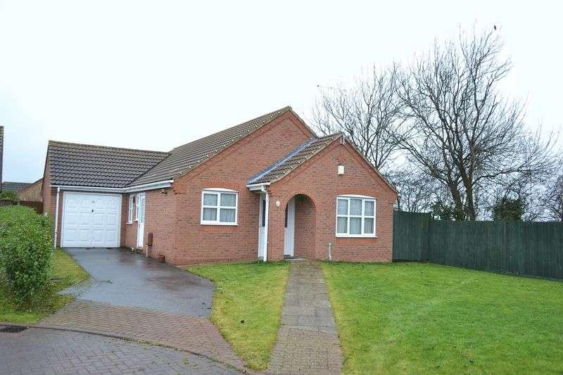 3 Bedrooms Detached Bungalow for sale in Celandine Close, South Killingholme