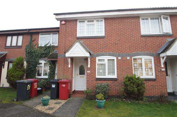2 Bedrooms Terraced House for sale in Peel Court, Off Farnburn Avenue, Slough