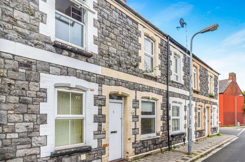 2 Bedrooms Terraced House for sale in Cumnock Place, Cardiff
