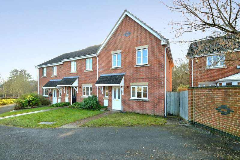 3 Bedrooms Semi Detached House for sale in Jack Close, Chandler's Ford