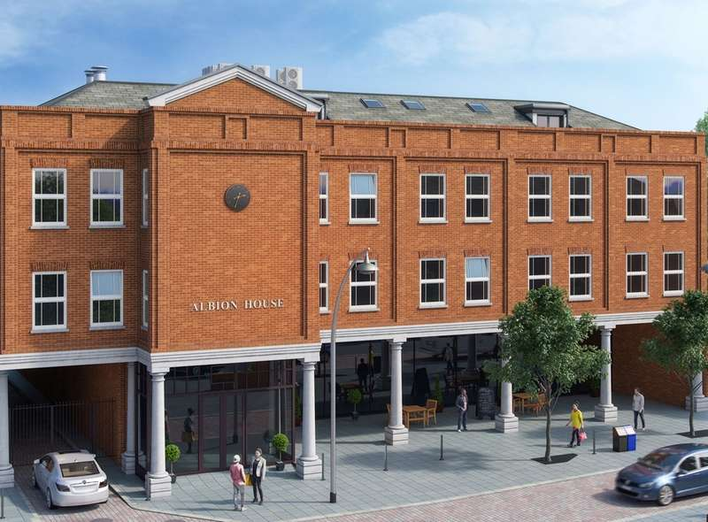 2 Bedrooms Apartment Flat for sale in Albion House, 14-18 Lime Street, Bedford, MK40