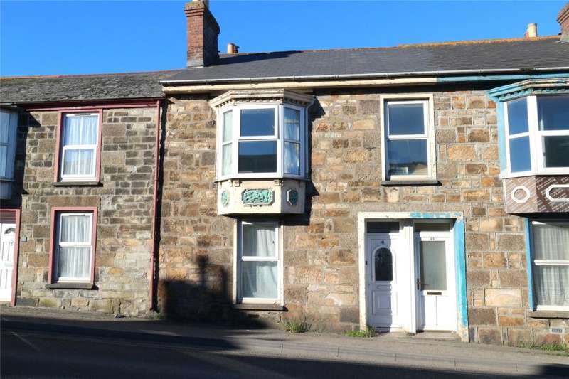 3 Bedrooms Terraced House for sale in Pendarves Street, Camborne, Cornwall