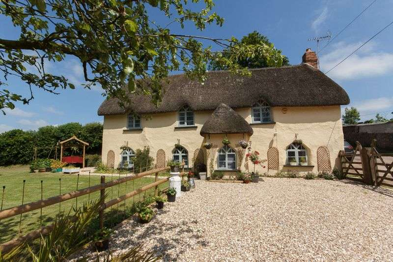3 Bedrooms Detached House for sale in Lower Woodhouse Cottage, Thelbridge
