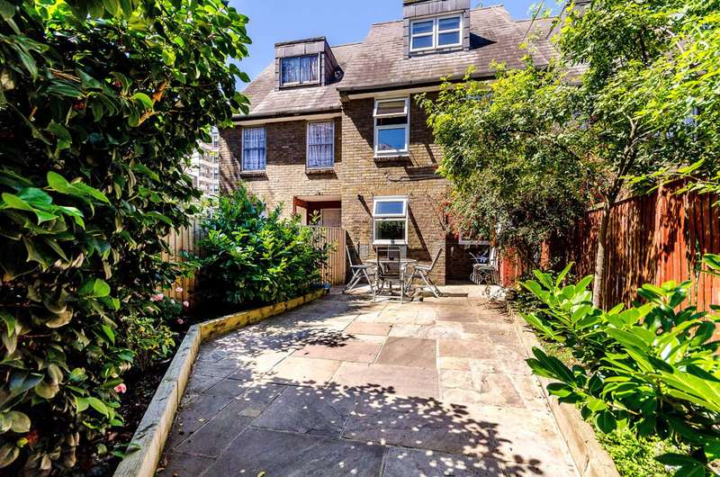 3 Bedrooms Terraced House for sale in Agatha Close, Wapping, E1W