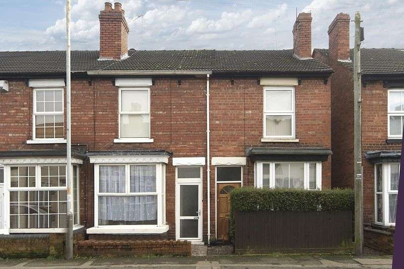 2 Bedrooms Terraced House for sale in Aldersley Road, Tettenhall, Wolverhampton