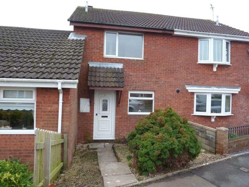 2 Bedrooms Terraced House for sale in Meadowcroft, Rhoose