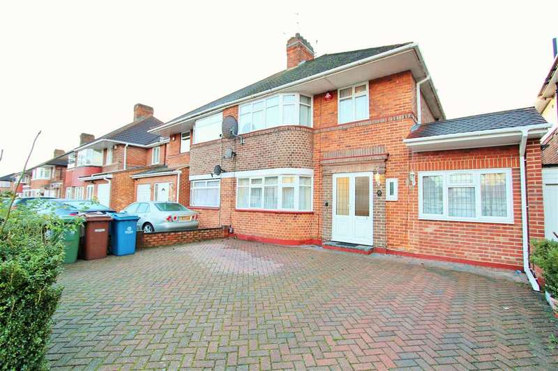 4 Bedrooms Semi Detached House for sale in Howberry Road, Edgware