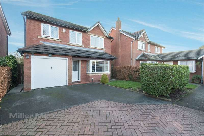 4 Bedrooms Detached House for sale in Havisham Close, Lostock, Bolton, Lancashire