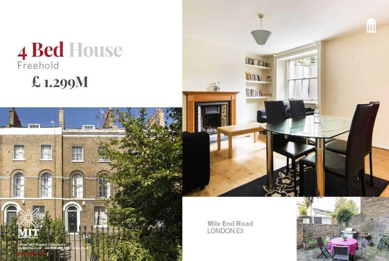4 Bedrooms House for sale in Mile End Road, Mile End