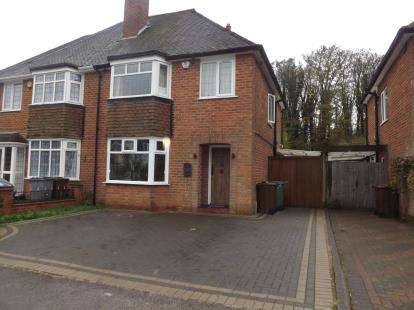 3 Bedrooms Semi Detached House for sale in Knightsbridge Road, Solihull, West Midlands