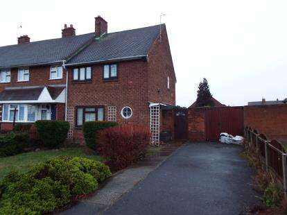 2 Bedrooms Semi Detached House for sale in Cavendish Road, Beechdale, Walsall, West Midlands