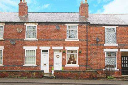 2 Bedrooms Terraced House for sale in Creswell Road, Clowne, Chesterfield, Derbyshire