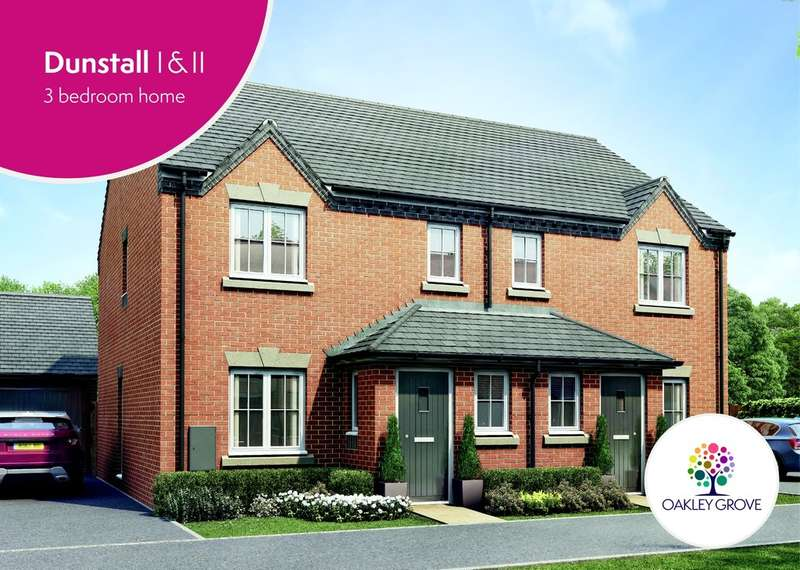 3 Bedrooms Detached House for sale in Plot 23 Dunstall I Oakley Grove