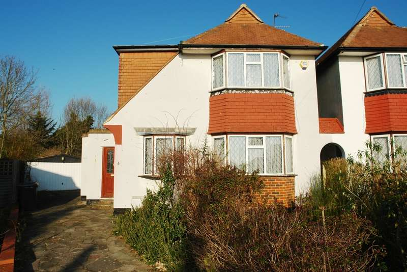 3 Bedrooms Semi Detached House for sale in Fritham Close, New Malden