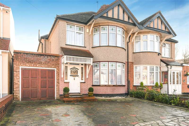 4 Bedrooms Semi Detached House for sale in Marlborough Hill, Harrow, Middlesex, HA1