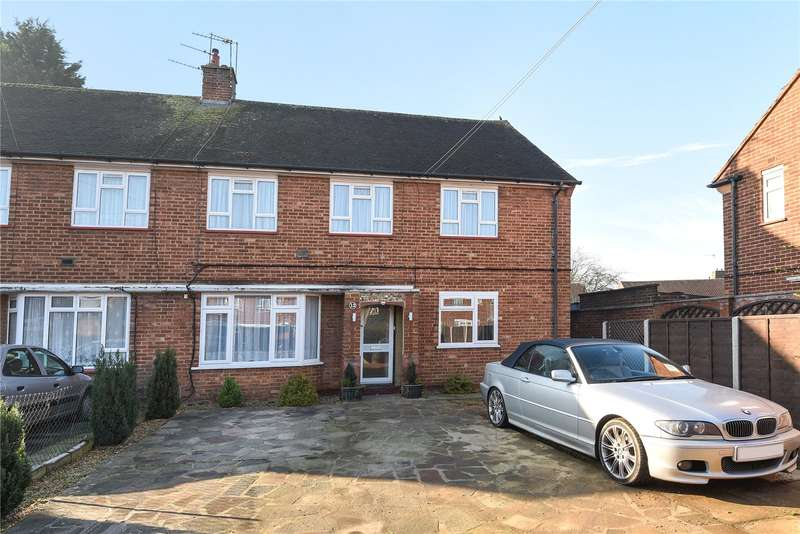 2 Bedrooms Maisonette Flat for sale in Ash Close, Harefield, Uxbridge, Middlesex, UB9
