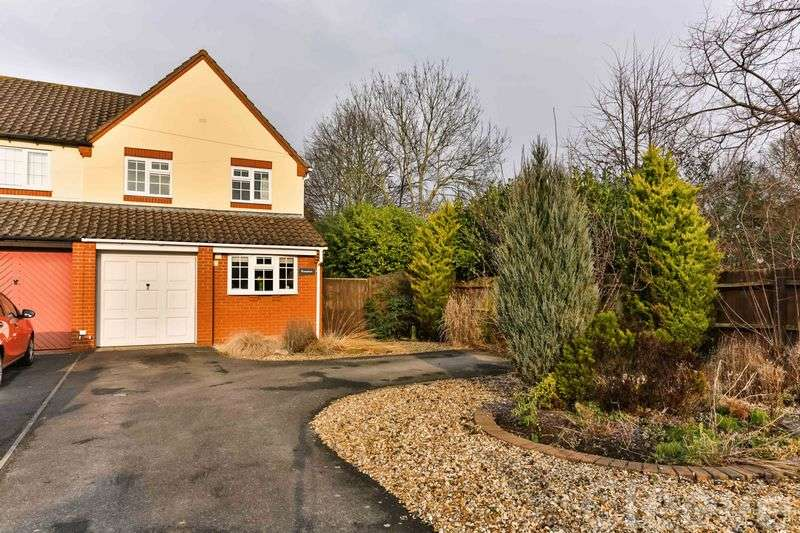 3 Bedrooms Semi Detached House for sale in Stoke Road, Bishops Cleeve