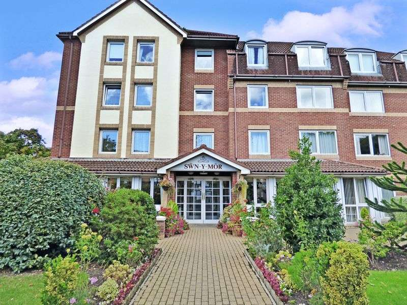 2 Bedrooms Retirement Property for sale in Swn-y-Mor, Colwyn Bay, LL29 7LE