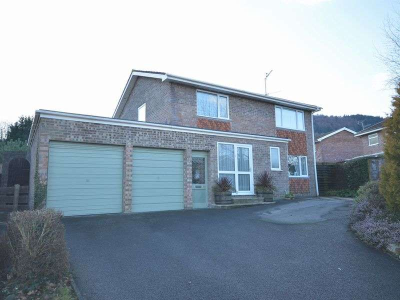 4 Bedrooms Detached House for sale in Elm Drive, Abergavenny