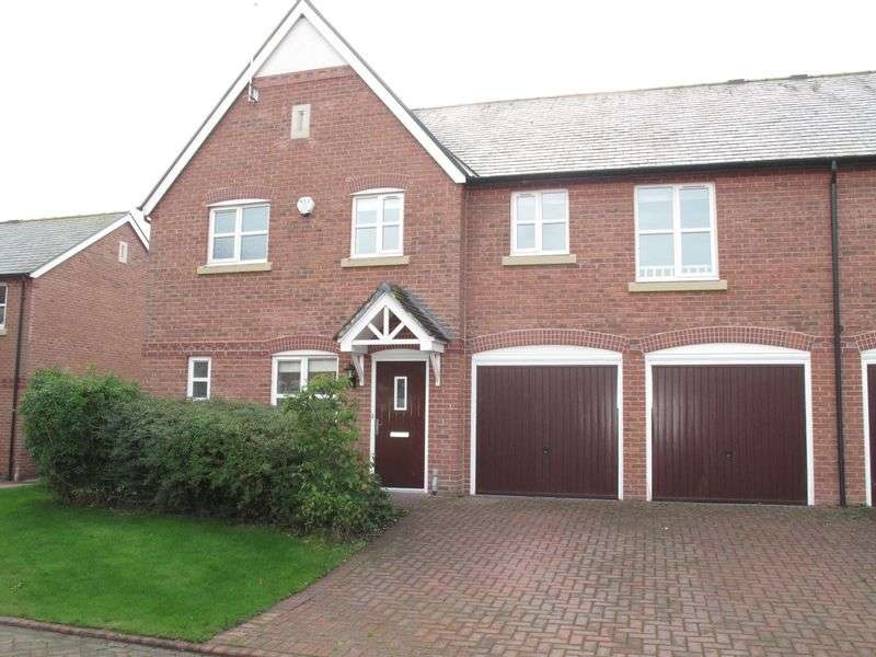 4 Bedrooms Semi Detached House for sale in St Clements Court, Crewe