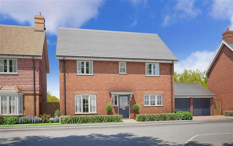 4 Bedrooms Detached House for sale in Hop Pocket Way, Headcorn, Kent