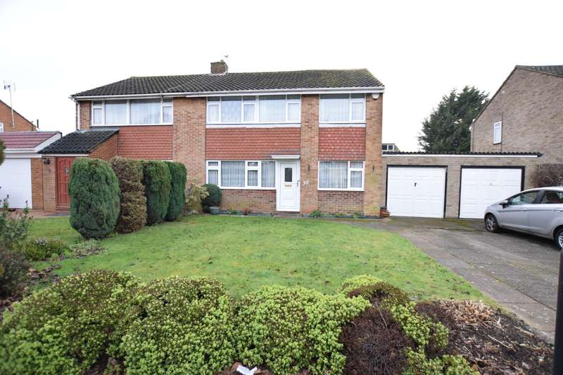 4 Bedrooms Semi Detached House for sale in Seacourt Road