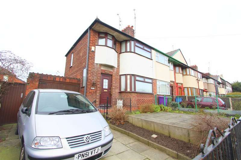 3 Bedrooms Town House for sale in Hazelyn, Derwent Road West, Old Swan, Liverpool