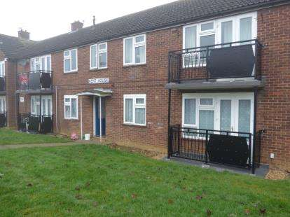 2 Bedrooms Flat for sale in Kent House, Surrey Place, Bletchley, Milton Keynes