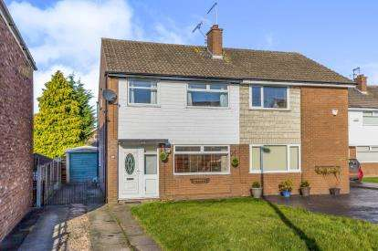 3 Bedrooms Semi Detached House for sale in Windermere Road, Wistaston, Crewe, Cheshire