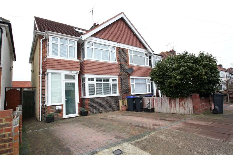 4 Bedrooms Semi Detached House for sale in Reigate Road, Worthing, West Sussex, BN11